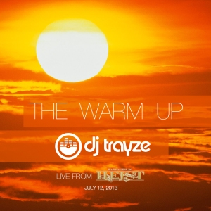 the warm up trayze mix art
