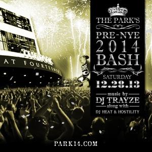 trayze park14 12-28-2013 saturday flyer